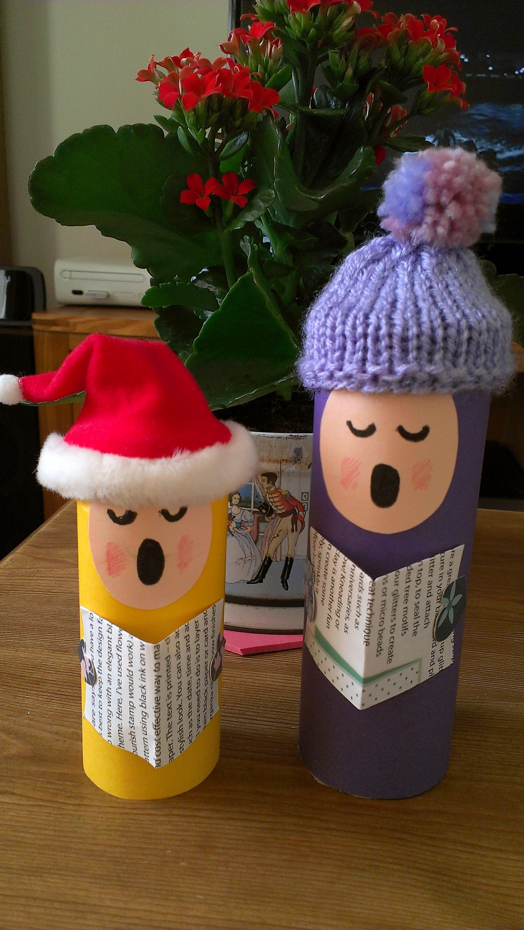 Toilet Paper Roll Christmas Craft  13 Incredibly Creative Toilet Paper Roll and Paper Towel