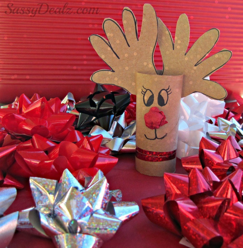 Toilet Paper Roll Christmas Craft  20 Toilet Paper Roll Christmas Crafts For The Most