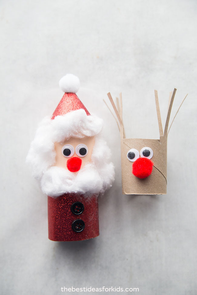Toilet Paper Roll Christmas Craft  Christmas Toilet Paper Roll Crafts The Best Ideas for Kids