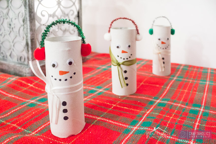 Toilet Paper Roll Christmas Crafts  Craftaholics Anonymous