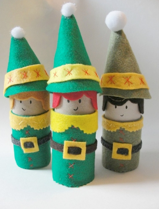 Toilet Paper Roll Christmas Crafts  Toilet Paper Roll Crafts Kids Kubby