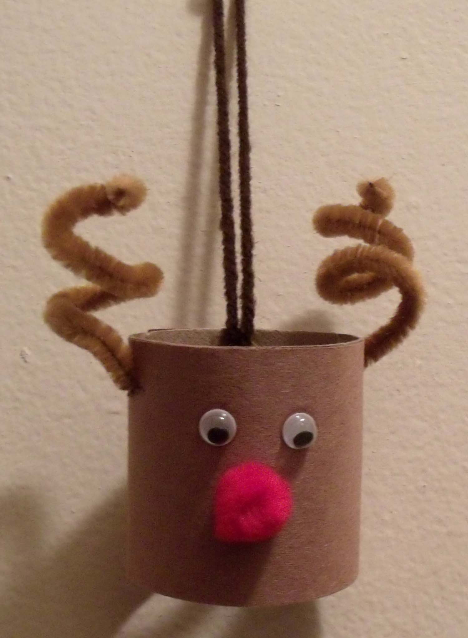 Toilet Paper Roll Christmas Crafts  Toilet Paper Roll Reindeer Craft