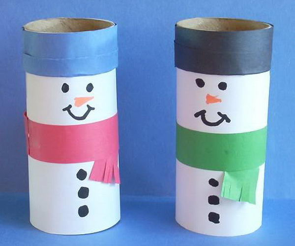 Toilet Paper Roll Christmas Crafts  150 Homemade Toilet Paper Roll Crafts Hative