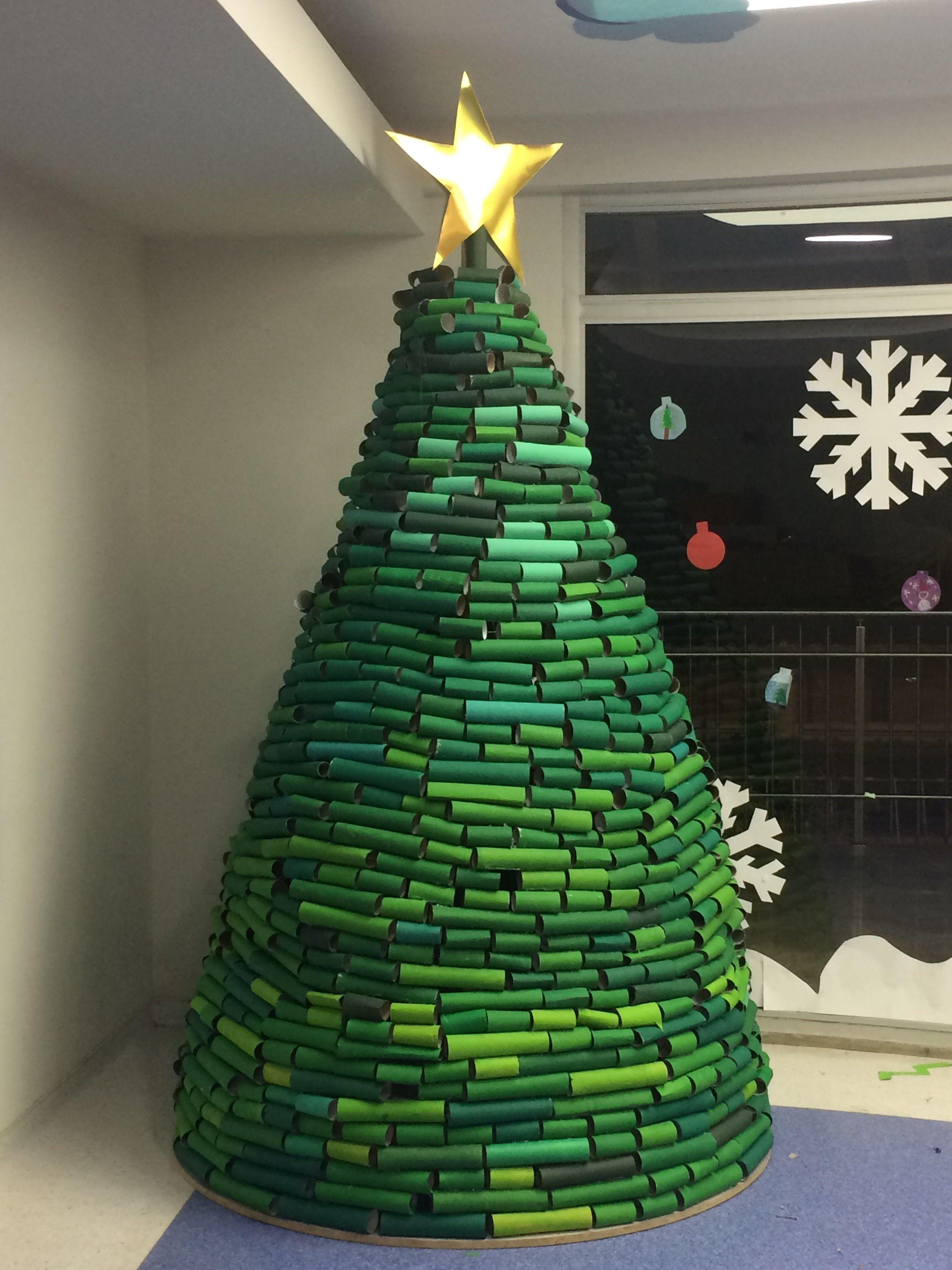 Toilet Paper Roll Christmas Tree  TreeofLife Christmastree ToiletPaperRoll