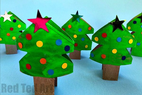 Toilet Paper Roll Christmas Tree  Toilet Paper Roll Christmas Tree Napkin Rings & Ornaments