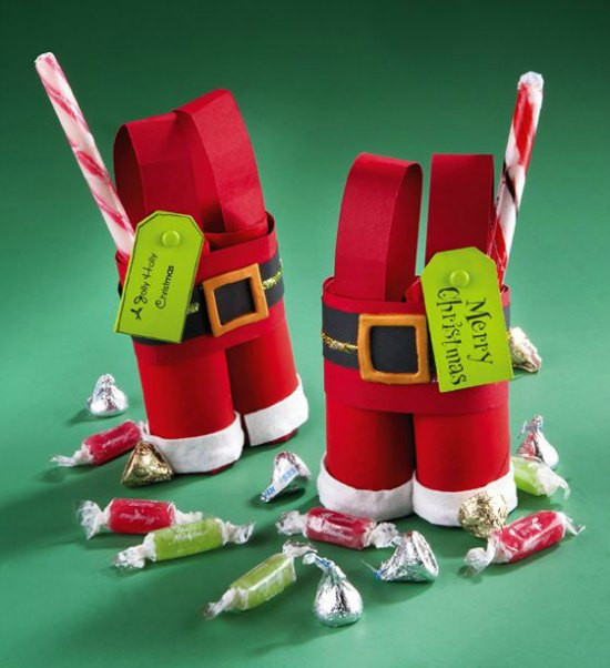 Toilet Paper Roll Crafts Christmas  30 Christmas Crafts with Toilet Paper Rolls Christmas