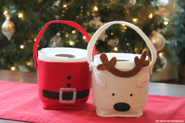 Toilet Paper Roll Crafts Christmas  Oh newlywed Archives Mom Skills