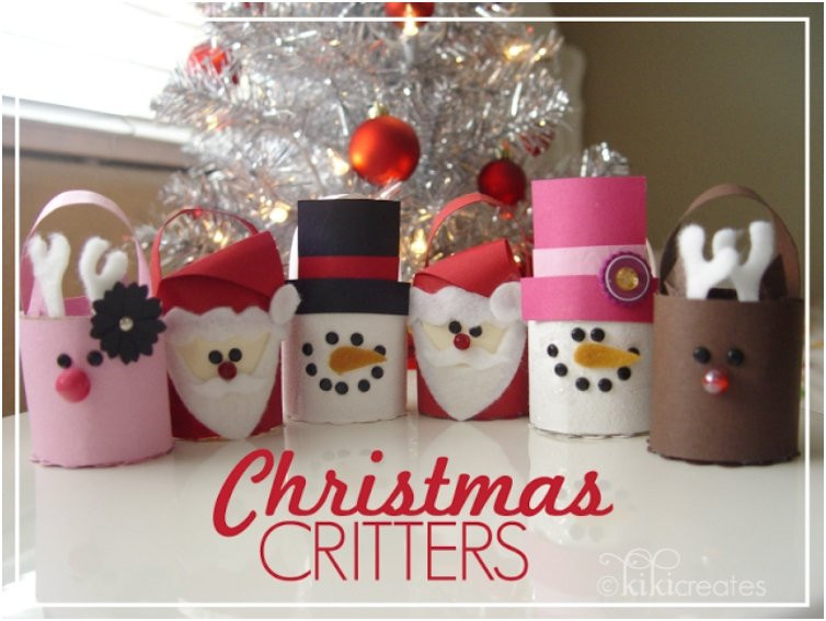 Toilet Paper Roll Crafts Christmas  20 Festive DIY Christmas Crafts From Toilet Paper Rolls